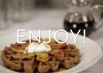Blendtec – Making Gingerbread Waffles
