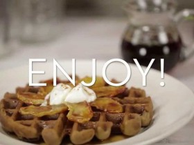Blendtec – Making Gingerbread Waffles