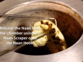 Making Naan in a Tandoor Oven
