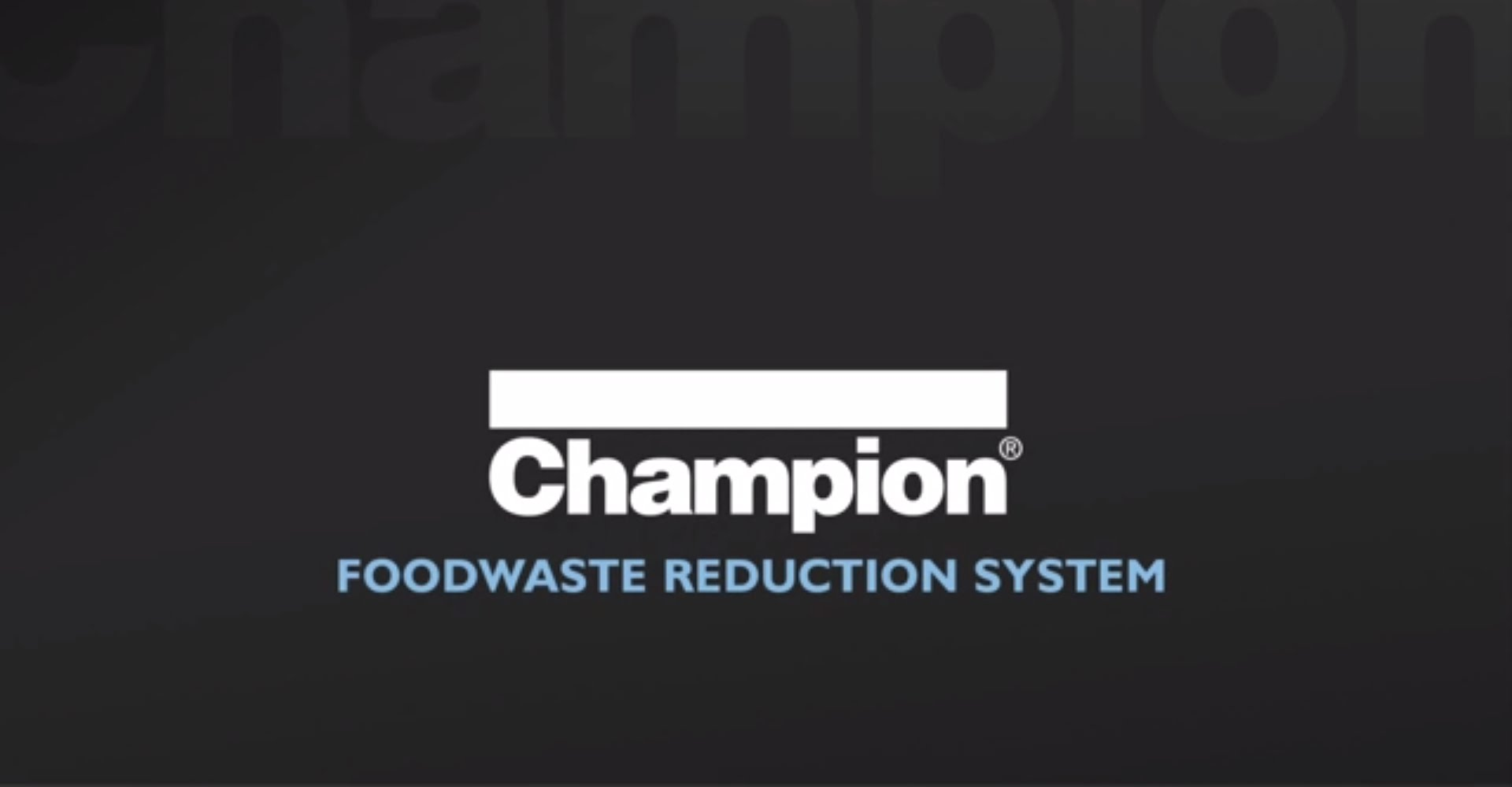 Champion – Foodwaste Reduction System