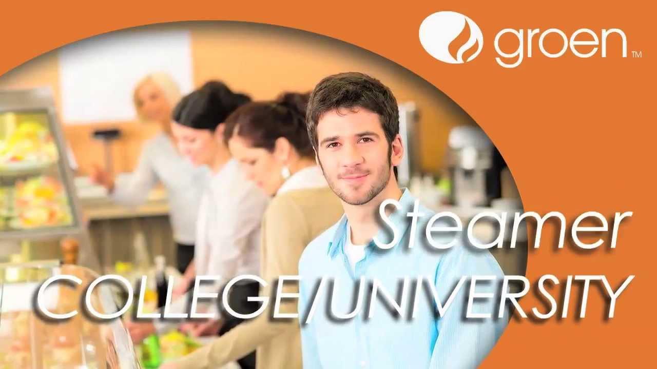 GROEN – Steamers for Universities