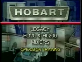 Hobart – Legacy HL120 and HL200 Mixer