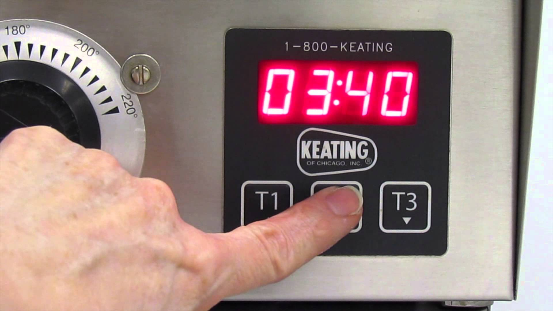 Keating – Fryer Digital Timer Instructions