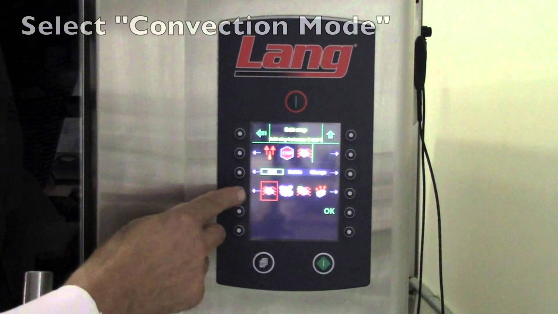 Lang – Combi Cooking Controls Overview