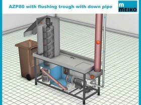 MEIKO – AZP 80 Waste Disposal System