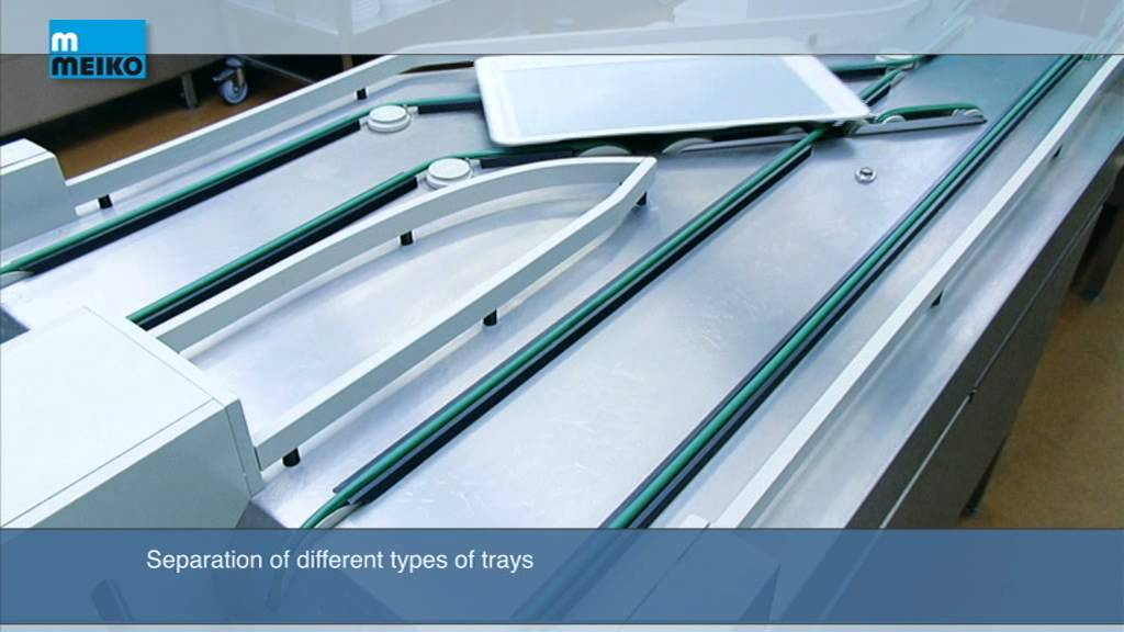 Meiko – Conveyor Tray Stacker
