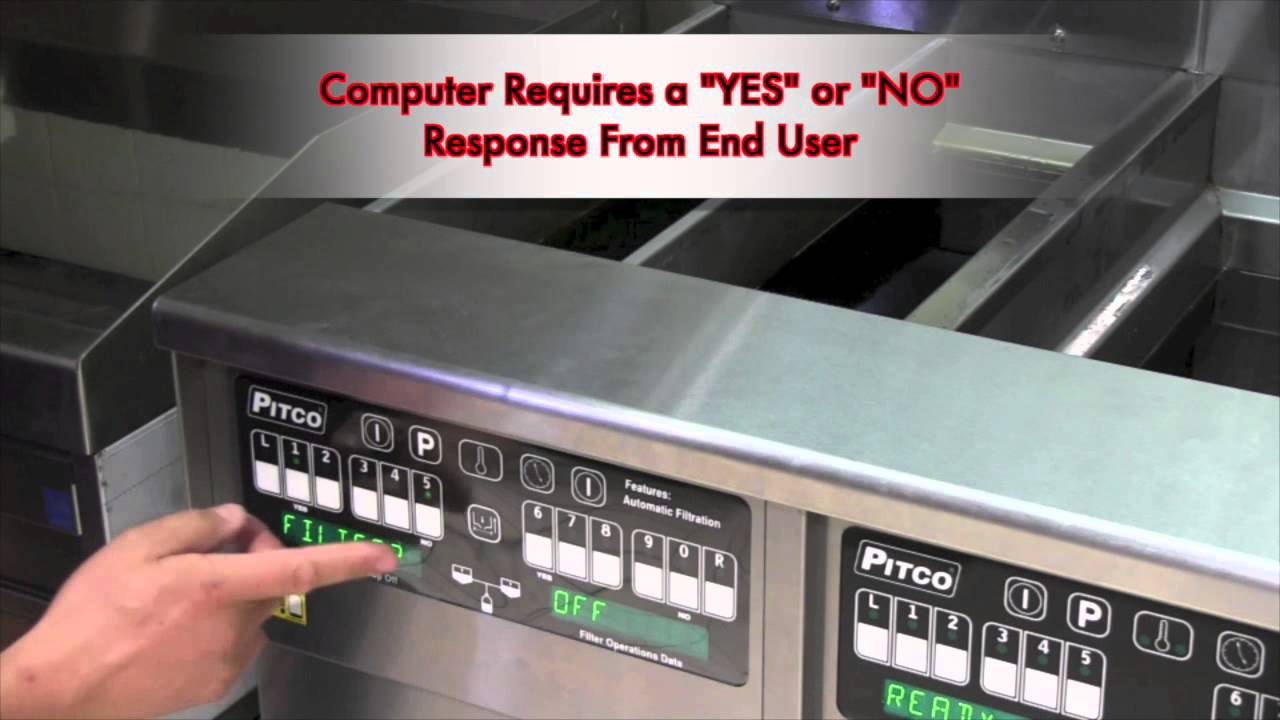 Pitco – Reduced Oil Volume Fryer Features