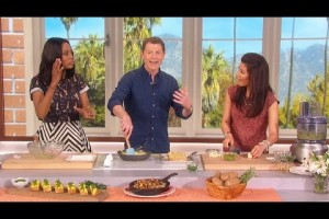 Preparing An Italian Brunch on the The Talk